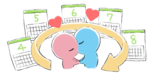 不妊の原因がない男女だと1回の周期で妊娠する確率は、およそ20~25%といわれており、この確率でいけば、4~5周期で妊娠が成立することになります。