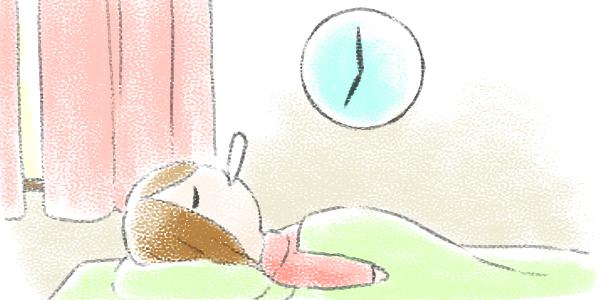 毎朝ベッドの中で決まった時間に測る