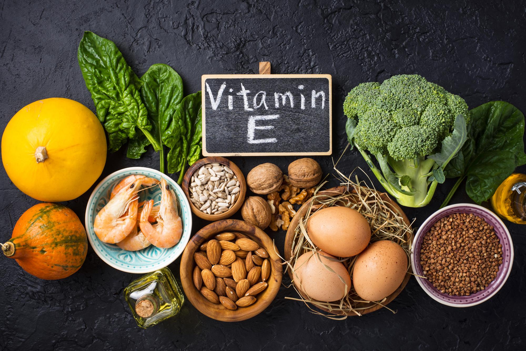 ビタミンEを含む主な食べ物