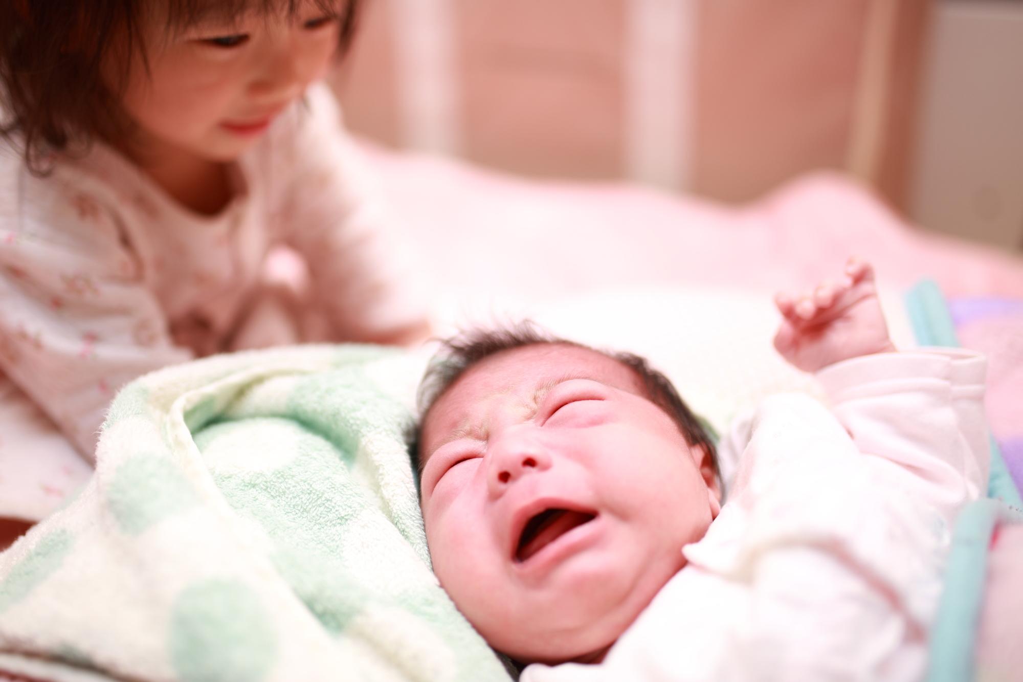 乳児と幼児